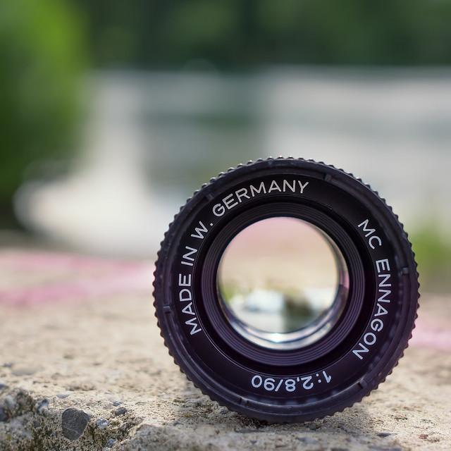 Enna München Ennagon 90mm ƒ/2.8 MC | vintage 35mm projection lens
