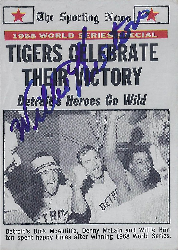 1969 Topps 1968 World Series Special Tigers Celebrate Flickr