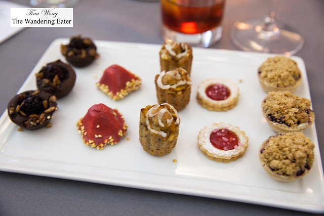 Dessert bites by Great Performances