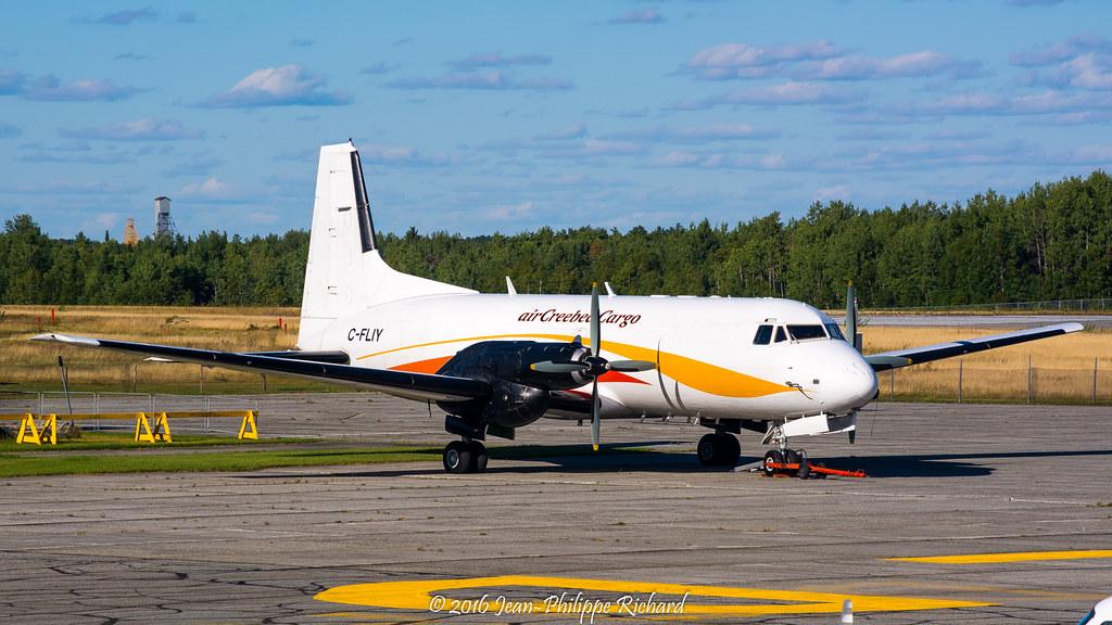 C-FLIY   Air Creebec   Hawker Siddeley HS.748