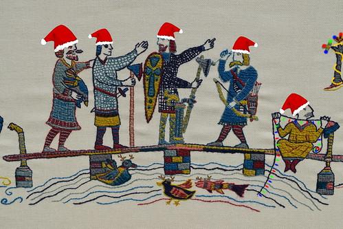 Panel 5 - Closeup 2 Christmas Card