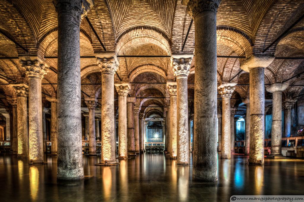 Sunken Palace or Basilica Cistern (Istanbul, Turkey)