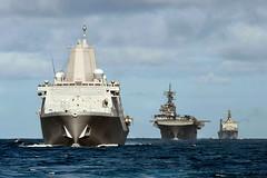 File photo of ships of the Essex Amphibious Ready Group. (U.S. Navy/MC2 Christopher B. Janik)