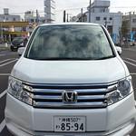 Honda Stepwgn 八人座的油電混合車 因為人多,所以當初在網路上選了7-8人座,現場看到這台可是滿意極了!