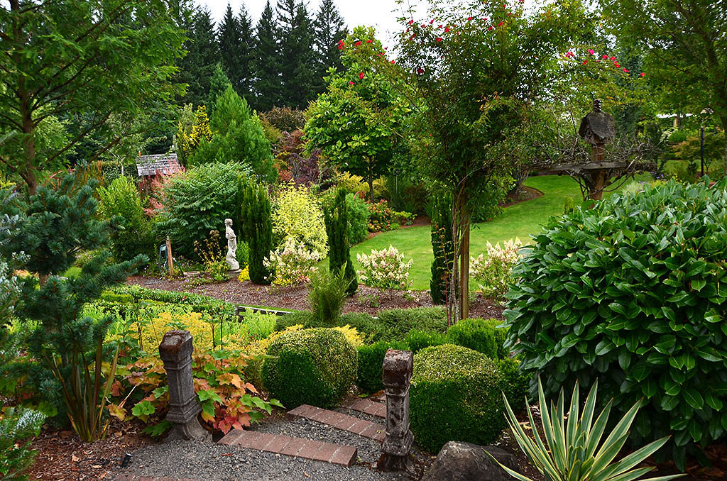 Image result for Estacada Garden tour