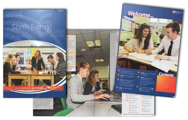 2014 Sandown Bay Academy 6th form prospectus
