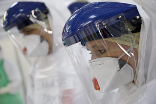 NHS medics train to tackle to Ebola in Sierra Leone | by DFID - UK Department for International Development