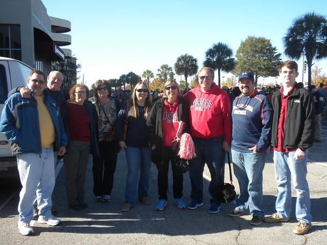 South Alabama fans.