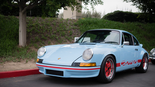 Gulf Blue Carrera RS 2.7 | by Stephen Hennessey