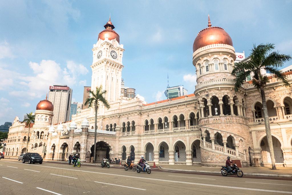 Bangunan Sultan Abdul Samad Tagois Flickr
