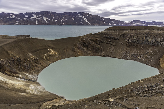 Askja Volcano and Viti, Iceland