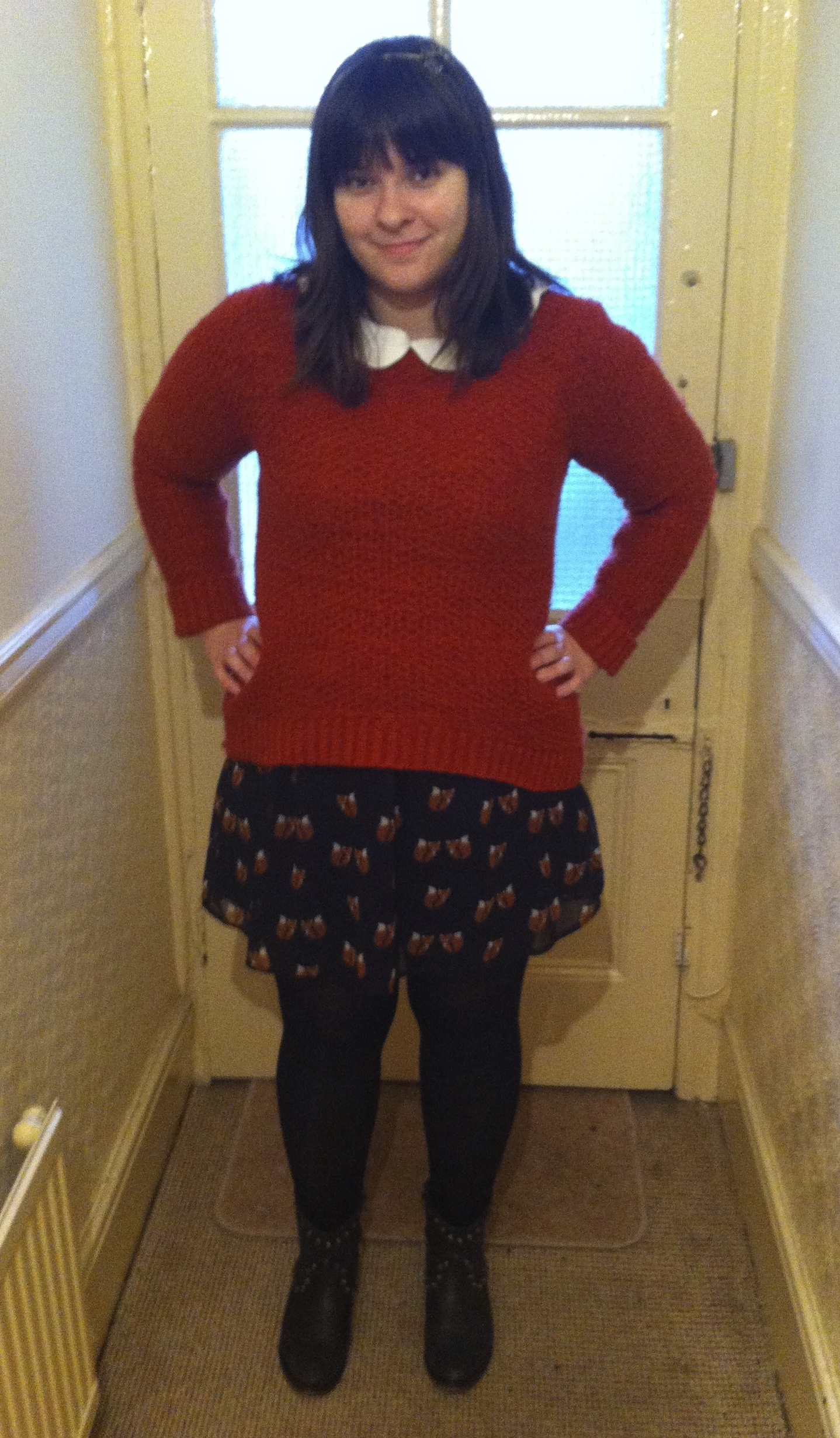 Outfit post: Foxy dress of dreams…and a jumper