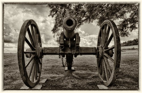 Cannon from Battle of Wilson's Creek