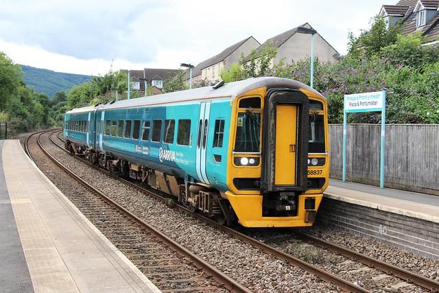 158837 Arriva Trains Wales