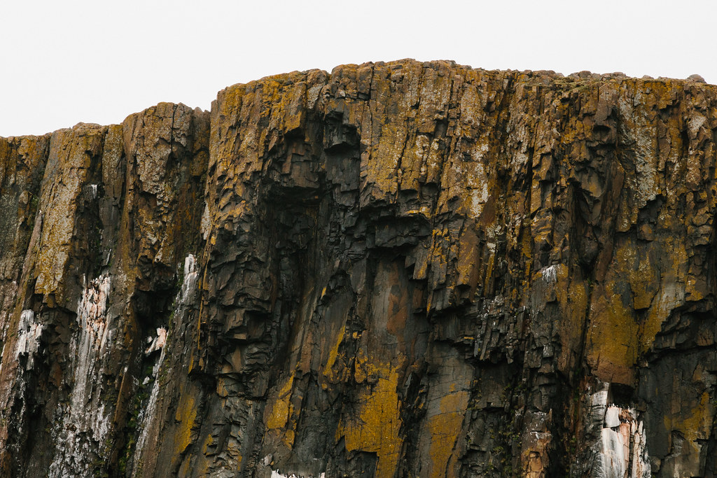Cliff Edge Looking Up