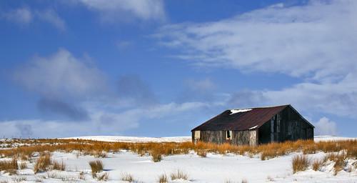 uk mountain snow field wales barn canon landscape tin eos britain farm cymru shed cardiff breconbeacons caerdydd 5d agriculture brecon beacons scrub trefil canoneos5d wentloog stevegarrington