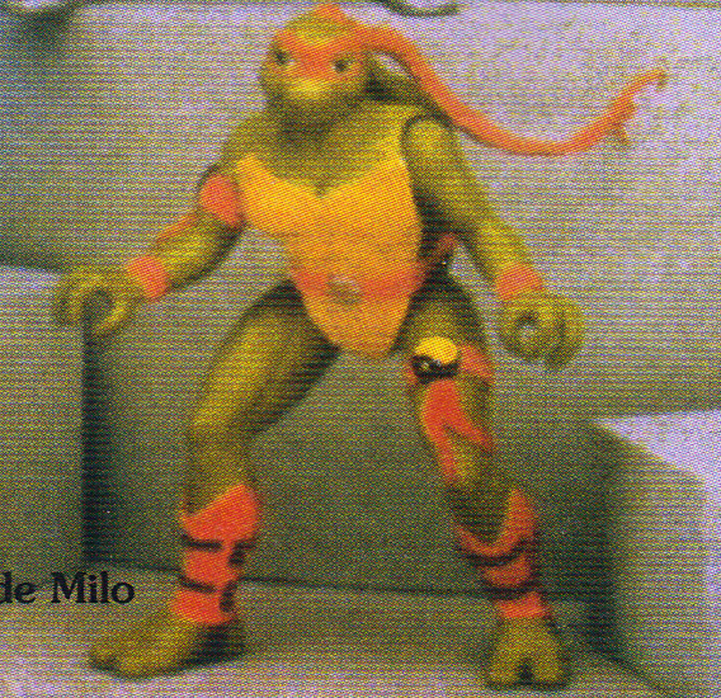 "Tomart's Action Figure Digest #xx :: pgs.26, 27 TOY FAIR '97, PLAYMATES ""NINJA TURTLES: THE NEXT MUTATION / ..early ""pink-bandana"" Venus  (( April 1997 )) by tOkKa"