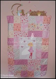 Colcha cama de grades Blooming Fairies II-1 | by GataPreta Artesanato