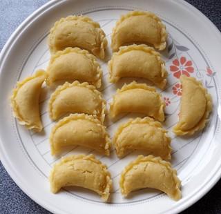 Crispy Sweet Dumplings 油角 Ready To Fry | by ComeUndone
