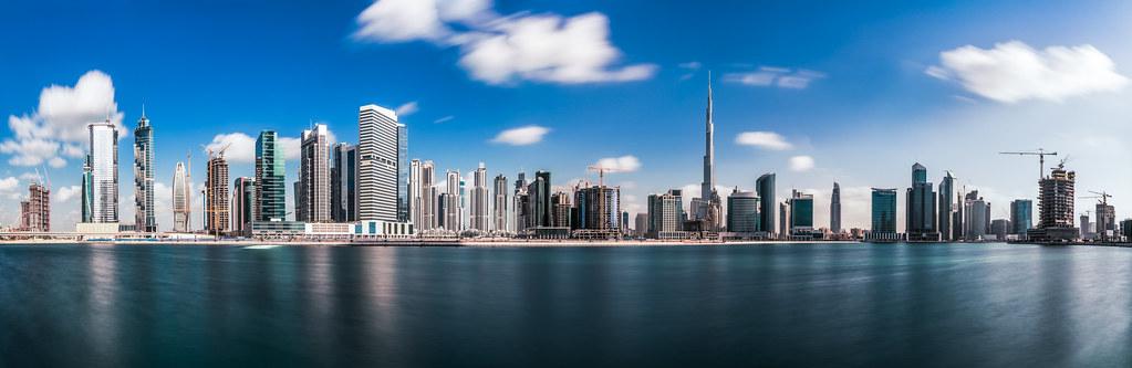 Dubai - Business Bay Panorama | © by Jean Claude Castor l 03… | Flickr