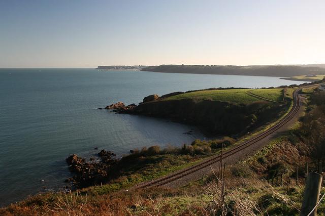The devon coast near Broadsands