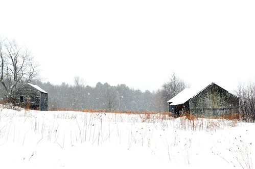 Snowfall at Spectacle Pond Farm | by Geoffrey Coelho Photography