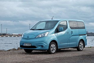 Nissan e-NV200 Evalia electric car | by Janitors
