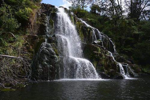 newzealand nature water landscape waterfall doubleexposure waterfalls aotearoa dri hauraki karangahakegorge waikino owharoafalls challengeyouwinner challengeclubwinner