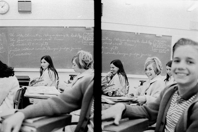 Pine Jr. High Classroom Scenes