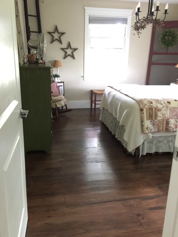 entering the master bedroom