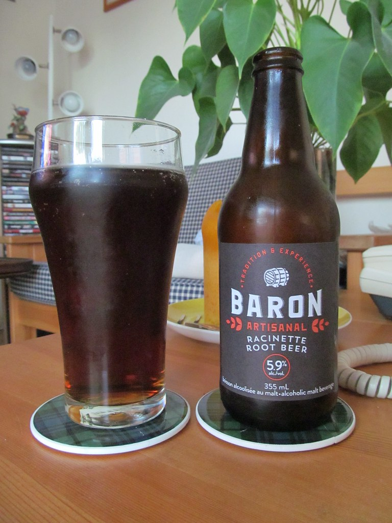 Baron Root Beer Malt Based Alcoholic Root Beer At 5 9 Ma