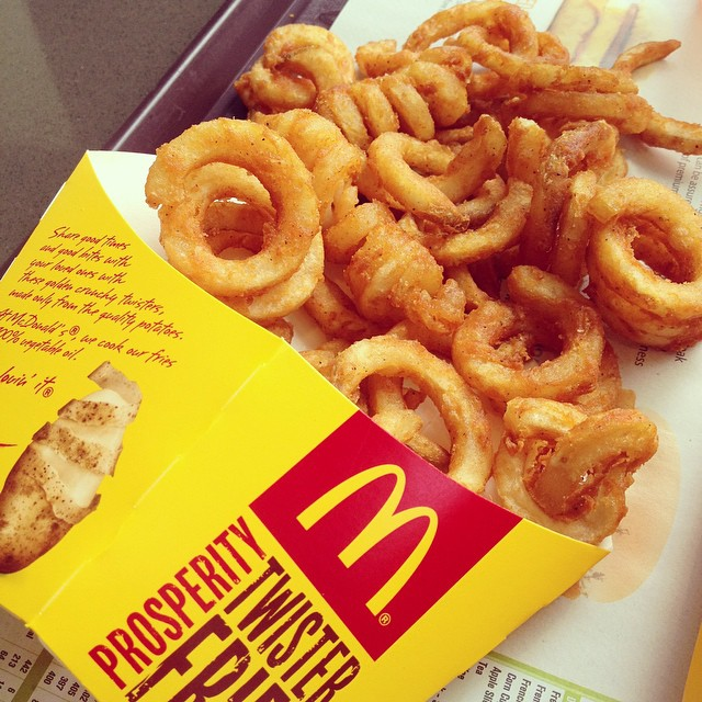 Singapore McDonalds, Y U NO have twister fries this year!!??