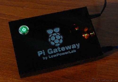 Custom Raspberry Pi Gateway   by Felix Rusu, LowPowerLab.com