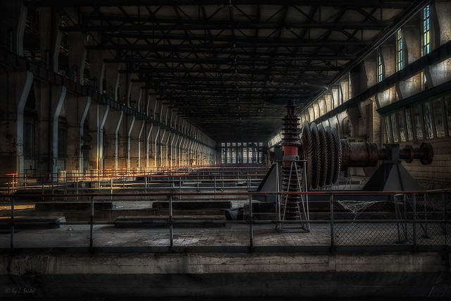 the vast turbine hall