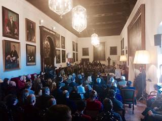 Acto de entrega de premios del Consejo Social de la Universidad de Granada