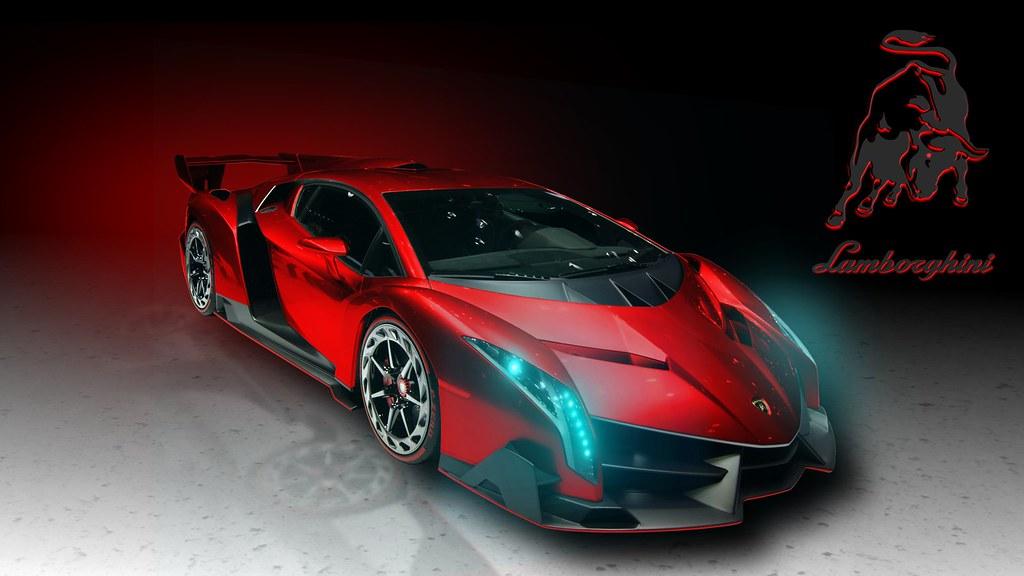 Lamborghini Veneno Sports Car Background Hd Lamborghini Ve Flickr