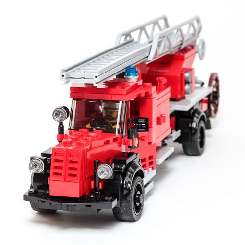1950s Mercedes L 6600 Fire Ladder Truck