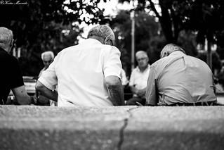old men talk