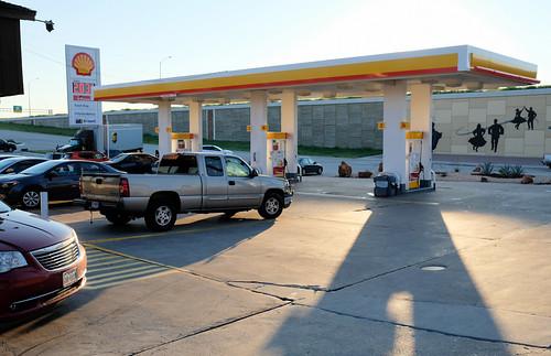 evening petrolstation sunset west texas unitedstates us dscf7028