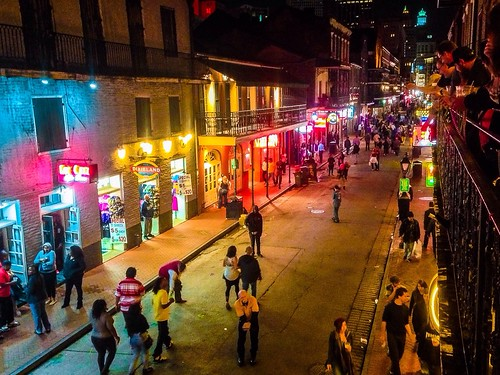 Bourbon Street - New Orleans, Louisiana | by Fuzzy Images