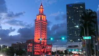 Miami: Freedom Tower at dusk | by Traveller-Reini