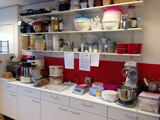 Keuken van de workshopruimte   by Levine1957