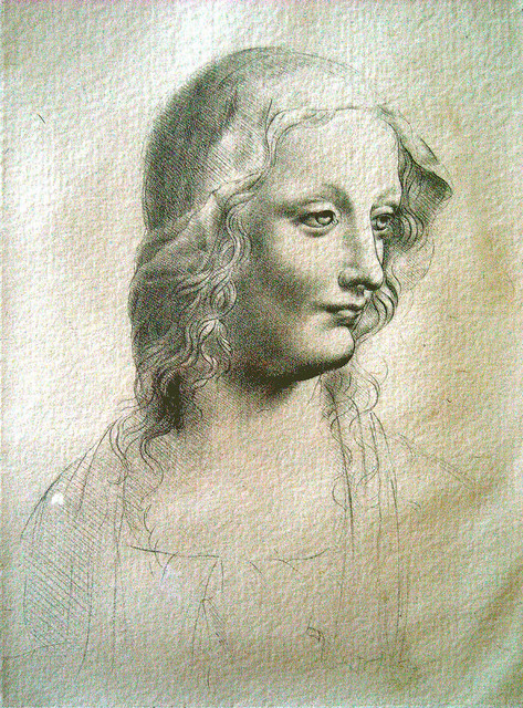 Leonardo - Donna velata (enhanced)