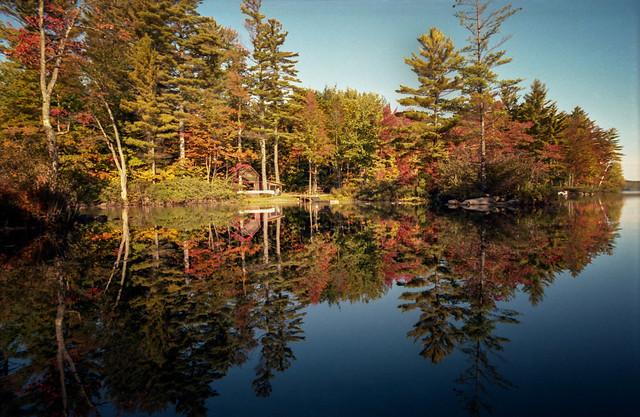 Peabody Pond October 1987