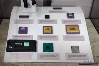 Intel x86 processors, Computer History Museum, Mountain Vi… | Flickr