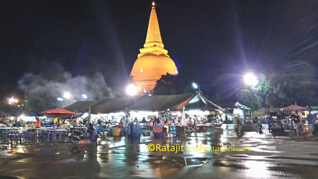 Thailand Riverside Markets and Floating Markets Near Bangkok Tour นครปฐม