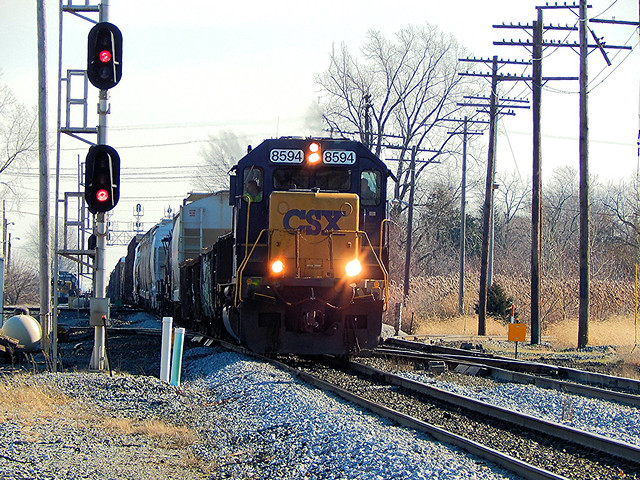 CSX at Fostoria Ohio
