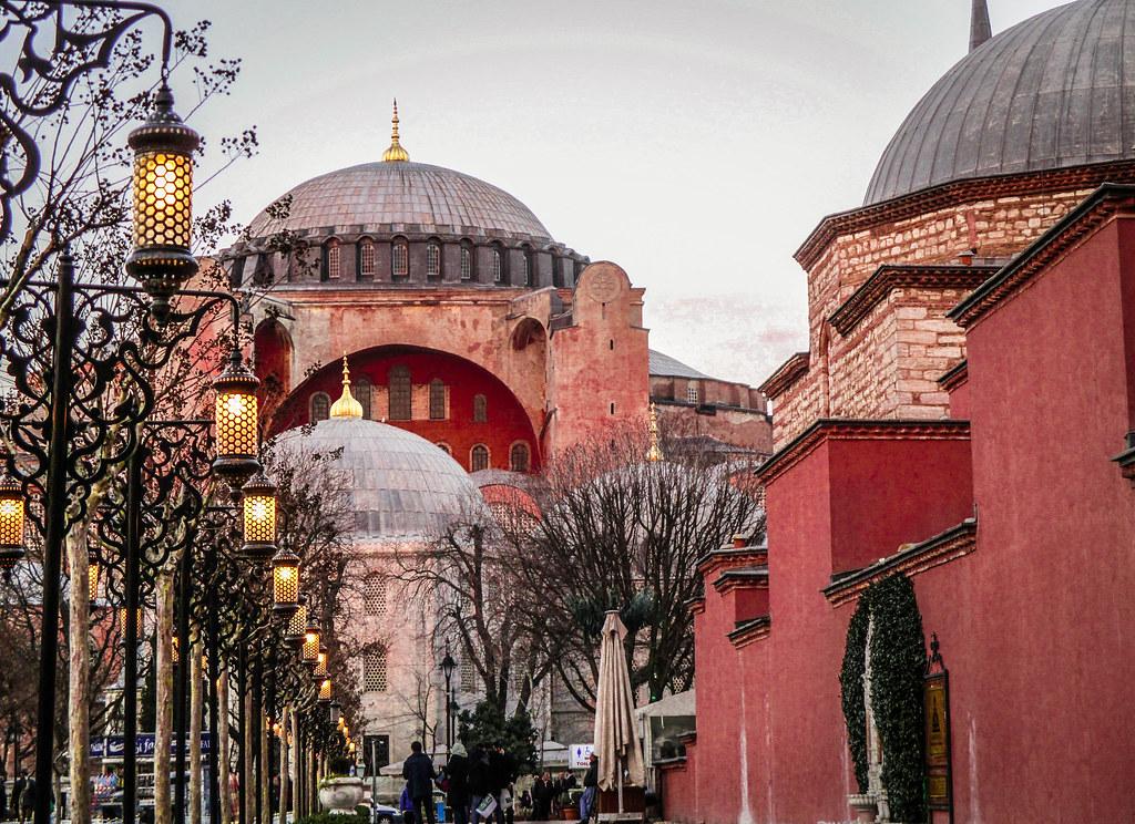 Hagia Sophia at Dawn