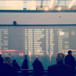 #Vienna arrivals