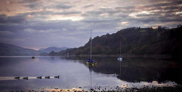 Bala Lake   Just up the road in happier days